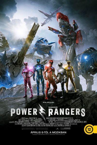 Power Rangers – Plakát