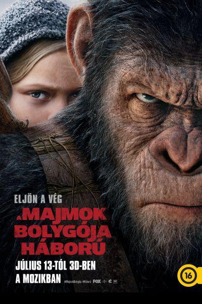 A majmok bolygója - Háború – Plakát