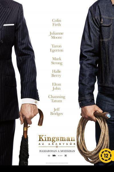 Kingsman: Az aranykör – Plakát