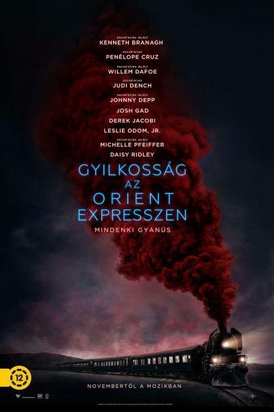 Gyilkosság az Orient expresszen – Plakát
