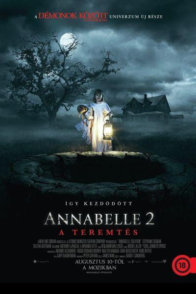 Annabelle 2. - A teremtés – Plakát