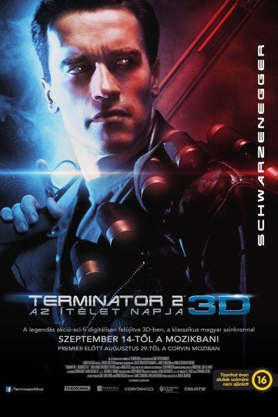Terminátor 2. - Az ítélet napja 3D – Plakát