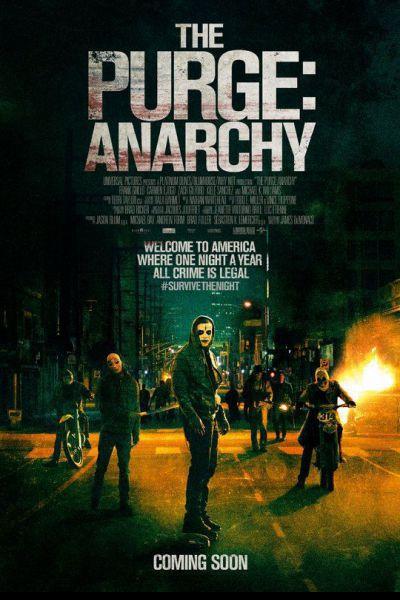 A megtisztulás éjszakája: anarchia – Plakát