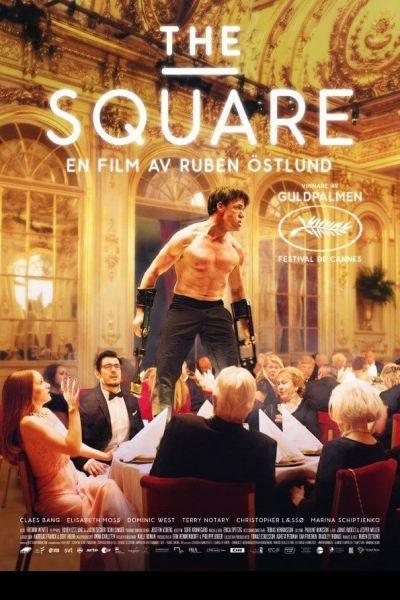 A négyzet – Plakát