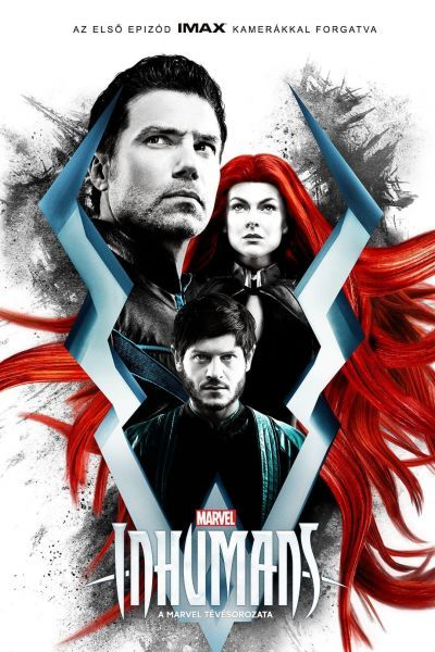Inhumans - Embertelenek – Plakát
