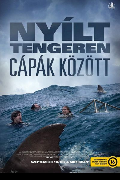 Nyílt tengeren: Cápák között – Plakát