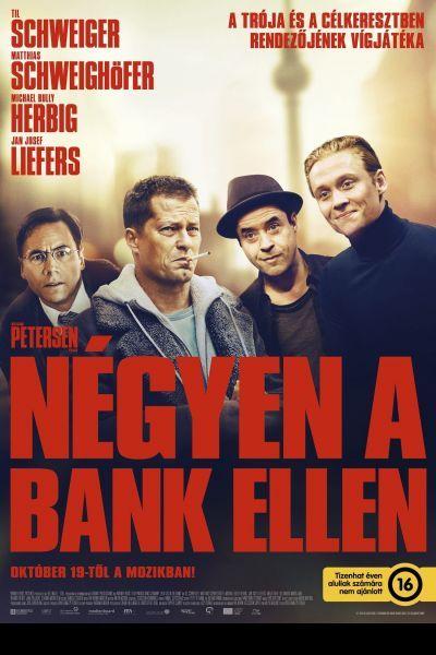 Négyen a bank ellen – Plakát