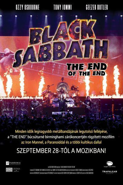 Black Sabbath: The End of the End – Plakát