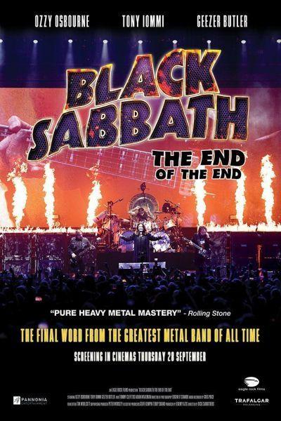 Black Sabbath the End of the End – Plakát